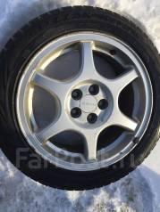 Резина Bridgestone 205/50/16 на литье 5*100 subaru без пробега по РФ. x16 5x100.00