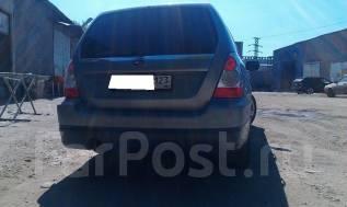 Накладка на бампер. Subaru Forester, SG, SG5, SG6, SG69, SG9, SG9L. Под заказ