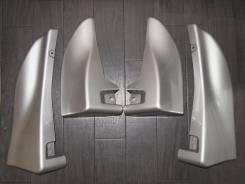 Накладки на бампер (брызговики). Toyota Avensis T25