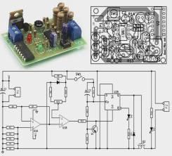 Радиоконструктор RP282. Электронный предохранитель