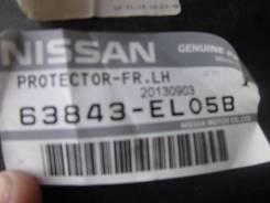 Подкрылок. Nissan Tiida, SC11 Двигатели: HR16DE, MR18DE, K9K