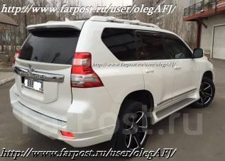 Накладка на дверь. Toyota Land Cruiser Prado, GDJ150L, KDJ150L, TRJ150W, TRJ150, GDJ150W, GRJ150, GRJ150W, GRJ150L Двигатели: 1GDFTV, 1KDFTV, 2TRFE, 1...