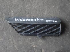 Решетка радиатора. Nissan Wingroad, WFY11