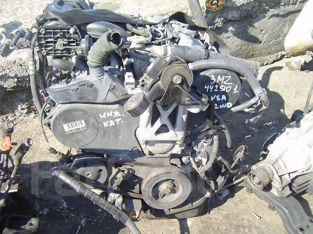 Контрактный (б/у) двигатель тойота 3MZ-FE