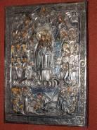 Икона «Матерь Божия Всех скорбящих радосте» в cтаром окладе. Оригинал
