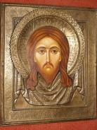 Икона «Спас Нерукотворный», в старом окладе. Оригинал