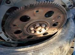 Маховик. Toyota Ractis, SCP100 Двигатель 2SZFE