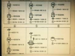 Подушка кузова. Toyota Land Cruiser Prado, VZJ90, KZJ90, KZJ95, RZJ90, RZJ95, VZJ95, KDJ90, KDJ95, 90, 95, RZJ9 Двигатели: 3RZFE, 5VZFE, 1KZTE, 1KDFTV
