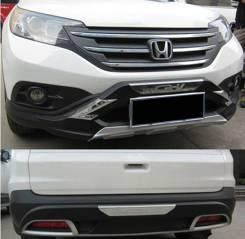 Накладка на бампер. Honda CR-V