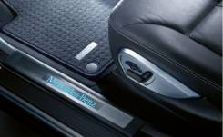 Накладка на порог. Mercedes-Benz ML-Class Mercedes-Benz GL-Class. Под заказ
