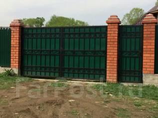 Заборы, ворота, козырьки. Услуги сварщика. Качественно и недорого!