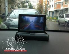 Автомобильный 2-х канальный LCD монитор 4,3 дюйма (2 видеовхода)