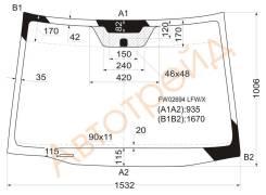 Стекло лобовое в клей ACURA RDX 06- FW02694 LFW/X XYG