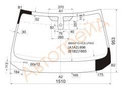 Стекло лобовое в клей BMW 5-SERIES F10/F11 10- 4/5D XYG BMW-F10-VCS LFW/X