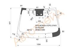 Стекло лобовое в клей OPEL MOKKA 12-