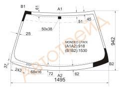 Стекло лобовое в клей FORD MONDEO/CONTOUR 93-00 4/5D HBK/WGN