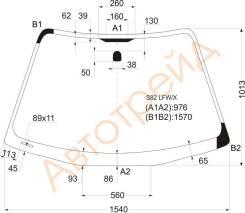 M301S RD/RH XYG Стекло заднее правое опускное DAIHATSU BOON/SIRION/TOYOTA PASSO/SUBARU JUSTY 04-