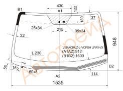 Стекло лобовое с обогревом щеток в клей HYUNDAI VERACRUZ/IX55 07-