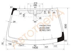 Стекло лобовое в клей JAGUAR X-TYPE 4D SED/STATION WAGON 05-08