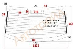 Стекло заднее с обогревом LADA KALINA 1118 4D 2004- SAT ST-1118 RW/H/X