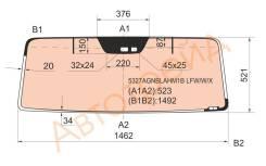 Стекло лобовое с обогревом в резинку MERCEDES-BENZ G-CLASS W463 G500 80- 3/5D