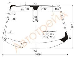 Стекло лобовое в клей OPEL OMEGA B 4D SED, CARAVAN (унив.) 94-2000 XYG OMEGA-94 LFW/X
