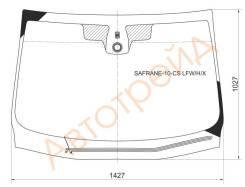 Стекло лобовое с обогревом щеток в клей RENAULT LATITUDE/SAFRANE 4D SED 2010-