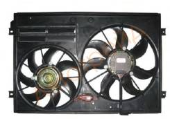 Диффузор радиатора в сборе VW TOURAN 03-05 SAT ST-VW45-201-0