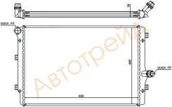VW0004-T SAT Радиатор AUDI TT 1.8T/2.0T/2.0TD 06-/A3/S3/PASSAT B6/EOS/TOLEDO/ALTEA/LEON 2.0T/2.0TD 03-/VW GOLF V/