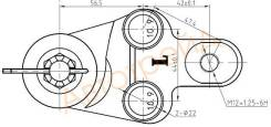 Шаровая нижняя FR TOYOTA CAMRY/AURION/LEXUS ES240/350 06- LH SAT ST-43340-39545