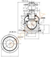 Шаровая нижняя TOYOTA LAND CRUISER 200/SEQUOIA/TUNDRA/LEXUS LX570 07- SAT ST-43330-60060