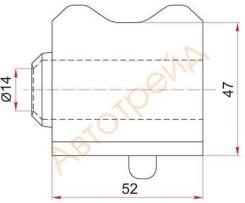 Втулка переднего стабилизатора TOYOTA AVENSIS ZRT270 08- D-23 RH SAT ST-48815-05160
