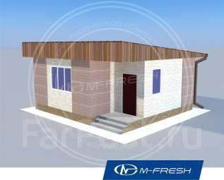 M-fresh Your Love (проект 1-этажного дома). до 100 кв. м., 1 этаж, 1 комната, дерево
