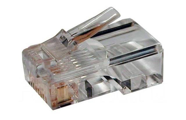 Разъем (коннектор) Plug RJ45, кат.5E, 8P8C