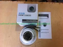 Камера видеонаблюдения купольная 800TVL вариофокал. с объективом