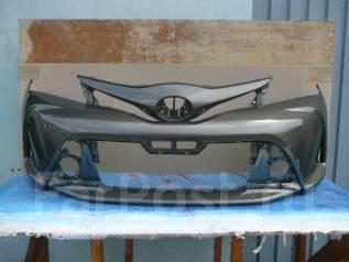 Бампер. Toyota Vitz, KSP130