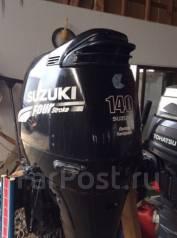 Suzuki. 140,00л.с., 4х тактный, бензин, нога X (635 мм), Год: 2002 год