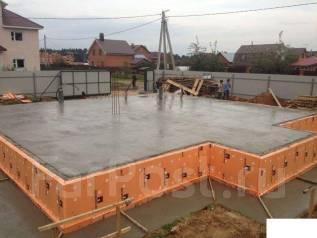 Строительство домов, фундамент, подпорные стены!