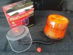 Маяк проблесковый оранжевый для спецтехники (12V светодиодный)