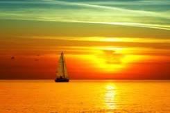 Набор для швартовки, гребли и уборки яхты, катера, лодки - 5 в одном