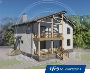 M-fresh Mister Robert (Покупайте сейчас проект со скидкой 20%! ). 200-300 кв. м., 2 этажа, 5 комнат, дерево