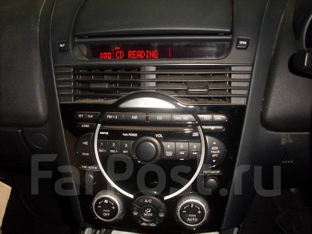 mazda rx-8 магнитофон