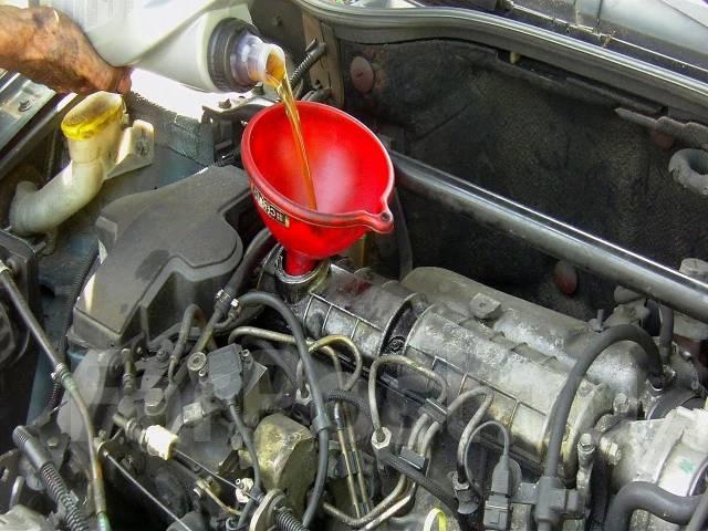 замена масла в автомобилях рено