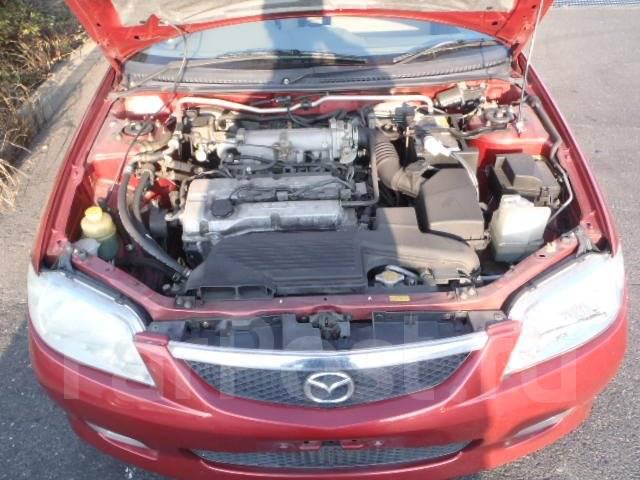 Бачок стеклоомывателя. Mazda 323 Mazda Familia, BJ5P Двигатель ZL
