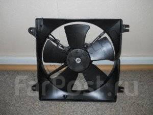 Вентилятор охлаждения радиатора. Chevrolet Lacetti, J200 Двигатели: F14D3, F16D3
