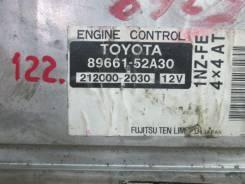 Блок управления двс. Toyota bB, NCP35 Двигатель 1NZFE