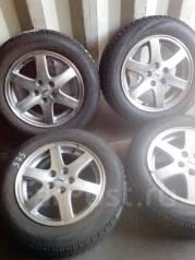 "Продам комплект колес ( 575 ) на японском литье / глубина 8-9 мм. 6.0x15"" 5x100.00 ET55 ЦО 54,0мм."
