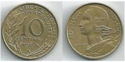 10 сантимов Франция