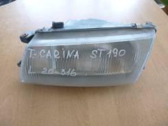 Продаётся фара левая  Toyota  Carina  ST190    20-316L