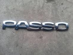 Эмблема. Toyota Passo